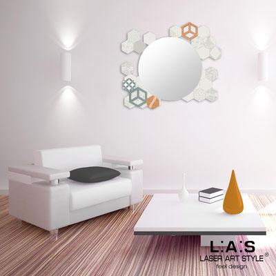 Mirrors </br> Code: SI-330 | Size: 90x75 cm </br>  Colour: cream-vintage colors decoration-matched engraving