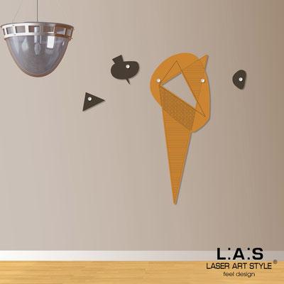 Complementi d'arredo </br> Codice: SI-378 | Misura: 50x130 cm </br> Colore: arancio medio-marrone-incisione legno