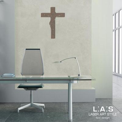 Crocifissi </br> Codice: CR20 | Misura: 30x40 cm </br>  Colore: grigio marrone