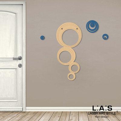 Complementi d'arredo </br> Codice: MW-337 | Misura: 47x105 cm </br> Colore: natural wood-blu distante-incisione legno