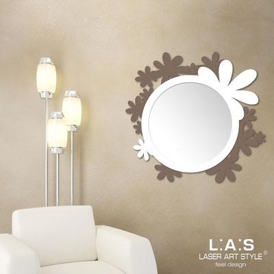 Mirrors </br> Code: SI-206Q-SP | Size: 93x87 cm </br>  Colour: dove grey-white