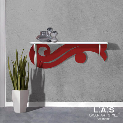 Furnishings </br> Code: SI-285   Size: 110x30 cm </br> Colour: white-red