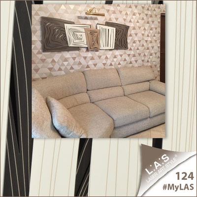 Abitazione privata | Italia </br> Codice: SI-147 | Misura: 180x60 cm </br> Colore: grigio marrone - panna - nocciola/incisione invariabile
