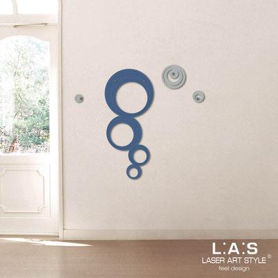 Complementi d'arredo </br> Codice: SI-337 | Misura: 47x105 cm </br> Colore: blu distante-cemento-incisione tono su tono