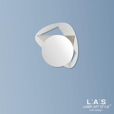 Specchiere </br> Codice: SI-375 | Misura: 67x60 cm </br>  Colore: argento-incisione legno