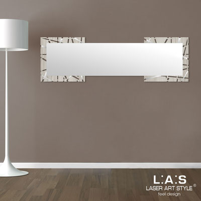 Mirrors </br> Code: MG-095-SPXL | Size: 180x60 cm </br>  Colour: grey wood-inox steel