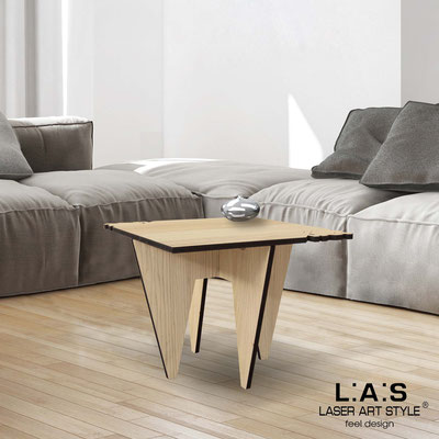 Furnishings </br> Code: W-411   Size: 60x60 h50 cm </br> Colour: natural wood