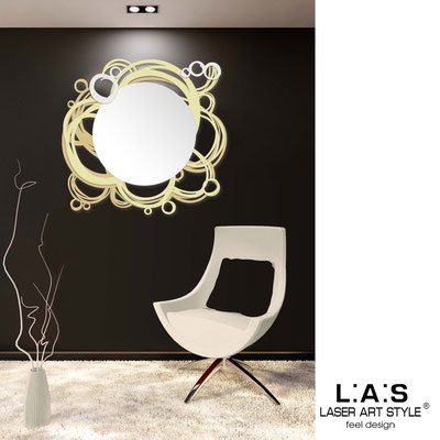 Mirrors </br> Code: SI-204Q-SP | Size: 90x85 cm </br>  Colour: camel-sand-cream