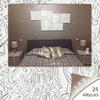 A casa di Giuseppe <br> Abitazione privata   Italia </br> Codice: SI-201   Misura: 150x74 cm </br> Colore: panna-incisione marrone