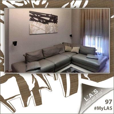 Abitazione privata | Italia </br> Codice: SI-149 | Misura: 180x100 cm </br> Colore: marrone - panna