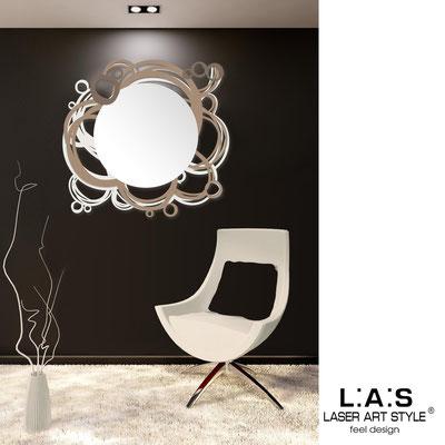 Specchiere </br> Codice: SI-204Q-SP | Misura: 90x85 cm </br>  Colore: panna-nocciola-grigio marrone