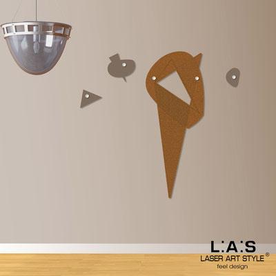 Complementi d'arredo </br> Codice: SI-378 | Misura: 50x130 cm </br> Colore: rame-grigio marrone-incisione legno