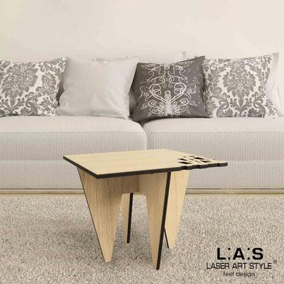 Complementi d'arredo </br> Codice: W-391 | Misura: 60x60 h50 cm </br> Colore: natural wood
