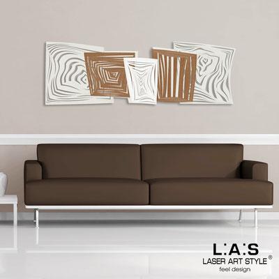 Quadri Astratti </br> Codice: SI-147 | Misura: 180x60 cm </br> Colore: panna-bronzo-bianco-incisione invariabile