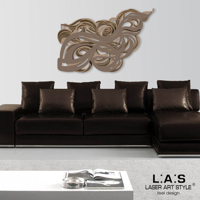 Abstract wall sculptures </br> Code: SI-171 | Size: 150x100 cm </br> Colour: hazel-dove grey-wood engraving