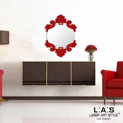 Specchiere </br> Codice: SI-248-SP | Misura: 64x87 cm </br>  Colore: rosso-rosso