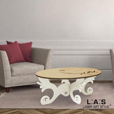 Complementi d'arredo </br> Codice: MW-289 | Misura: 100x60 h40 cm </br> Colore: natural wood-panna