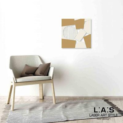 Quarantotto </br>  Codice: Q-016 | Misura: 48x48 cm </br> Colore: decoro beige-senape-incisione legno