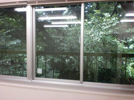 自習室の窓からの景色