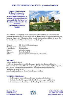Schloss Hohenschwangau privat