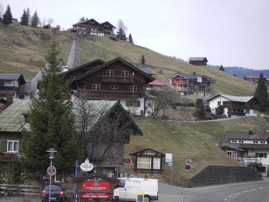 Walserhaus im Walsertal