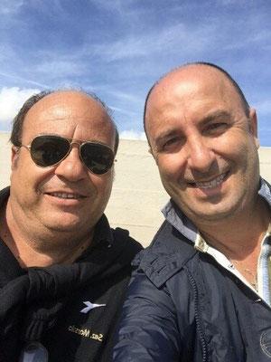 Angelo Attinà e Carmelo Parisi a Strasatti per una gara del settore giovanile