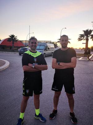 Claudio Martinico e Vincenzo D'Alberti