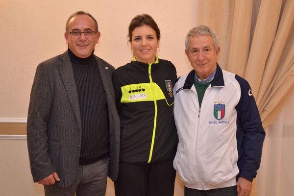 Biagio Girlando con Eva Iorio e Mimmo Poma