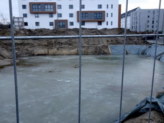 01 / 2018 - Grundwasser ist vereist