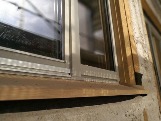 09 / 2018 - Fenster werden eingebaut