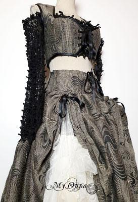 Creation My Oppa The FantaSteam Show 2020 Bohemian burlesque steampunk corsetry boho