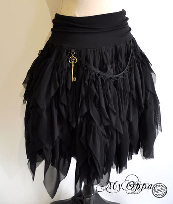 creation jupe steampunk my oppa bohème skirt fashion
