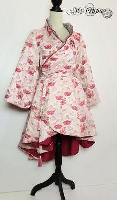 kimono veste pink my oppa fashion creation