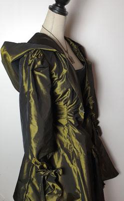 Creation My Oppa The FantaSteam Show 2020 green princess  burlesque steampunk corsetry