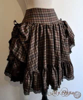 creation jupe my oppa bohème skirt fashion steampunk
