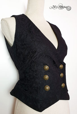 My oppa fashion steampunk jacket creation