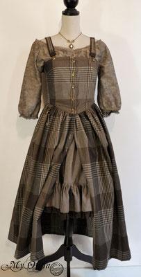 Création My Oppa robe mori des bois 2018 costume dress fashion creation