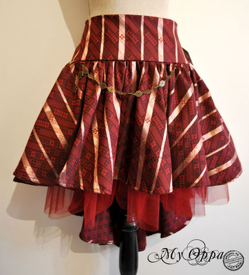 creation jupe steampunk my oppa skirt fashion