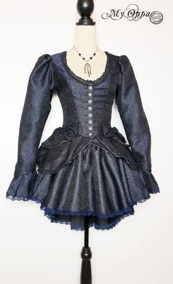 My oppa creation blue steampunk princess costume
