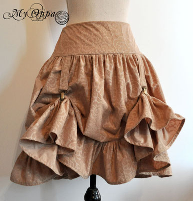 creation jupe steampunk my oppa mori skirt fashion