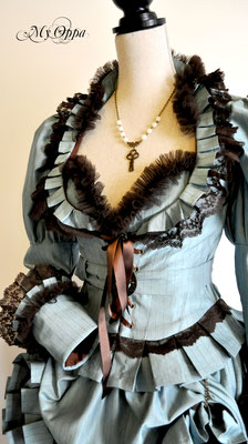 Creation My Oppa Fashion show steampunk Conte reine des neiges the snow queen  2014