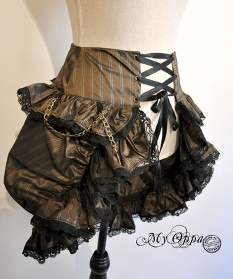 creation jupe my oppa bohème skirt fashion steampunk