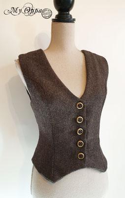 my oppa creation gilet waiscoat steampunk