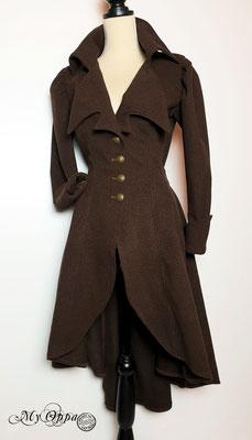 Manteau steampunk creation my oppa/ coat steampunk