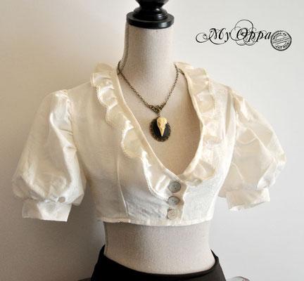 chemise courte steampunk my oppa creation