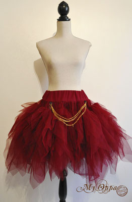 creation jupe steampunk my oppa skirt fashion bohemian tutu