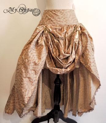 creation jupe steampunk my oppa mori skirt fashion