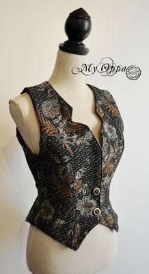 gilet steampunk my oppa creation waistcoat