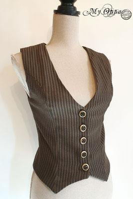 vêtement steampunk gilet