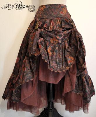 creation jupe steampunk my oppa bohème skirt fashion